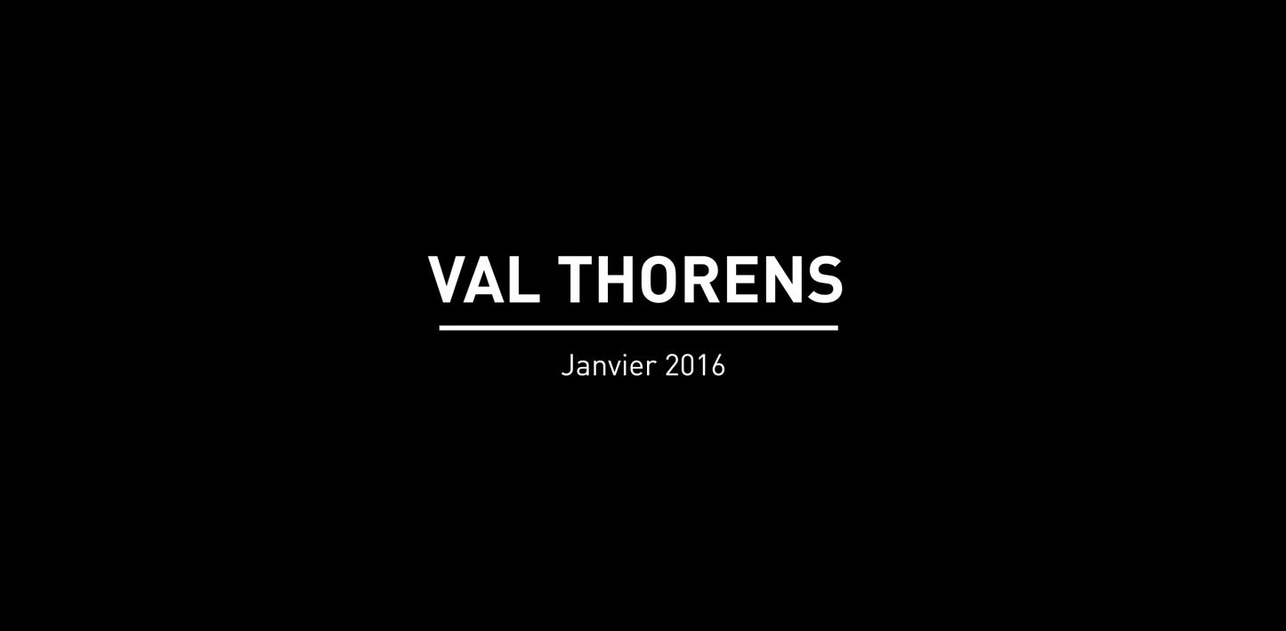 VAL THORENS JANVIER 2016 – VIDÉO